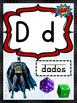 Abecedario Superheroes