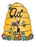 Abecedario abejas