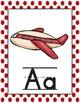 Abecedario arcoiris/Rainbow Spanish Alphabet Posters