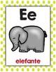 Abecedario de animales/Spanish Animal Alphabet Posters