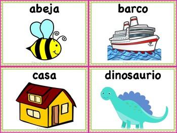 Alphabet in Spanish / Abecedario en Español!