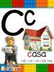 Abecedario en español Motivo Lego
