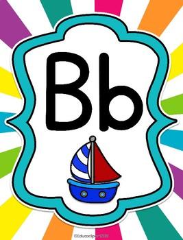 Abecedario para el preescolar - Spanish Prek ABC