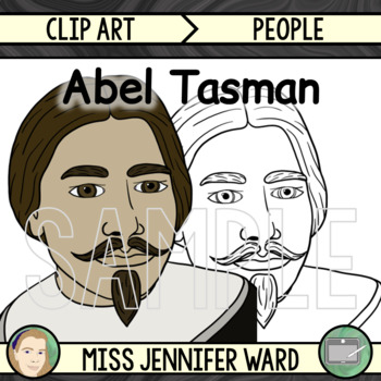 Abel Tasman Clip Art