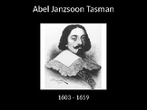 Australian Curriculum - Year 4 explorers: Abel Tasman Powerpoint Presentation