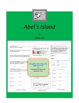 Abel's Island Complete Literature and Grammar Unit