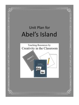 Abel's Island  Novel Unit Plus Grammar