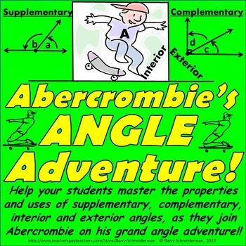 Angles Untangled! - Supplementary Angles, Interior Angles, Exterior Angles