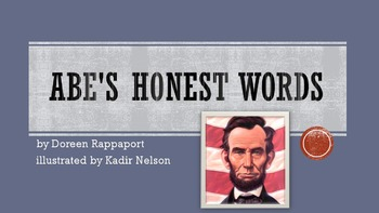 Abe's Honest Words by Rappaport, Text Talk Collaborative Conversations