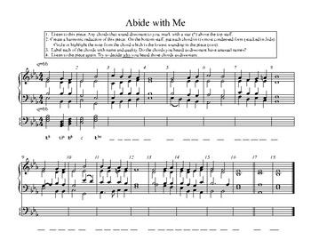 Abide With Me-Harmonic Reduction