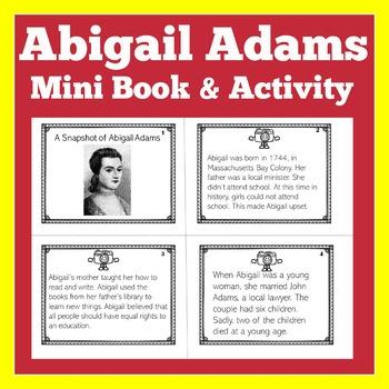 Abigail Adams | Biography Activity