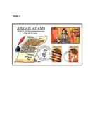 Abigail Adams, An Emancipated Woman