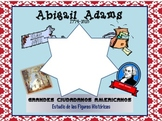 Abigail Adams Bilingual Social Studies Unit