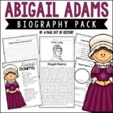Abigail Adams Biography Pack (Revolutionary Americans)