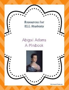Abigail Adams Minibook for ELL Students