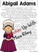 Abigail Adams Research Packet