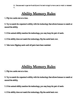 Ability Memory