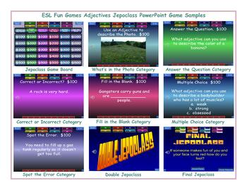 Ability Modals Jeopardy PowerPoint Game
