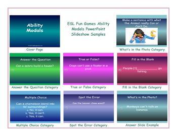 Ability Modals PowerPoint Slideshow