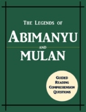 Abimanyu - Mulan Benchmark Advance Guided-Reading Companion Pages