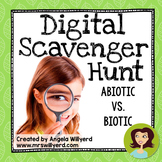 Abiotic and Biotic Factors {Non-Living / Living} Digital Scavenger Hunt - SMART