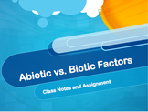 Abiotic and Biotic Factors PowerPoint