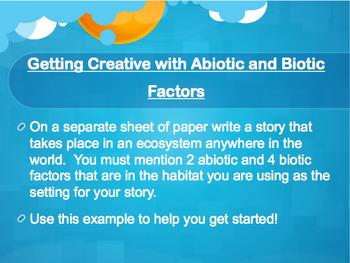 Abiotic and Biotic Factors PowerPoint