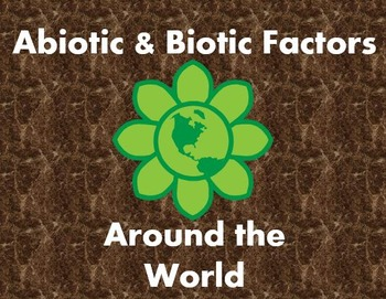 Abiotic vs. Biotic Factors: Identifying and Graphing Activity