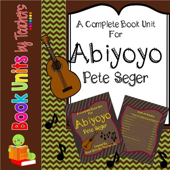 Abiyoyo Book by Pete Seeger Unit