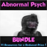 Abnormal Psychology Bundle (DISTANCE LEARNING)
