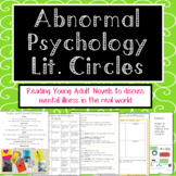 Abnormal Psychology Literature Circles and Project