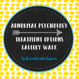 Abnormal Psychology Treatment Overview: Gallery Walk