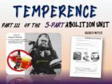 Abolition & Other Pre-Civil War Movements - PART 3: TEMPERANCE MOVEMENT