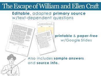 Abolition: The Escape of William and Ellen Craft