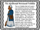 Abolitionist Foldable