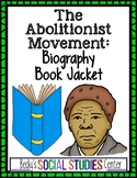 Abolitionist Movement - Create a Biography Book Cover of a Leader