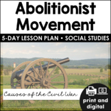 Abolitionist Movement for Google Classroom™ | Distance Learning