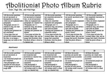 Abolitionist Photo Album