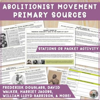 Abolitionist Propaganda Student Presentations