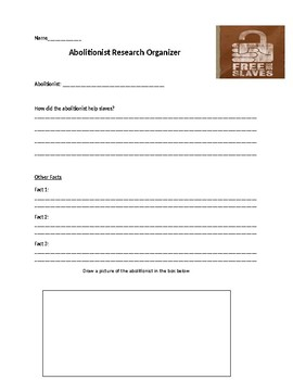 Abolitionist Research Organizer