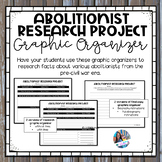 Abolitionist Research Project Graphic Organizers