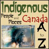 Aboriginal A to Z Vocabulary Dictionary Organizer New BC Curriculum