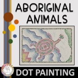 Aboriginal Animal Dot Painting Lesson | Adaptable for Distance Learning