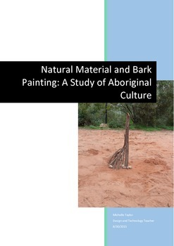 Aboriginal Art - Bark Painting and Natural Sculptures