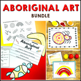 Aboriginal Art Bundle: Symbols, Flip Book, Lesson Ideas, Information Slides