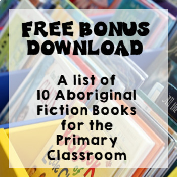 Aboriginal Art Bundle: Symbols, Flip Book, Lesson Ideas, Information Slides