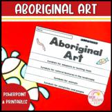 Aboriginal Art Activities Instructions Flip Book Worksheets and Slides