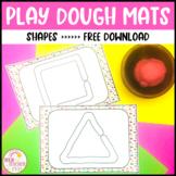 Shape Play Dough Mats FREE DOWNLOAD