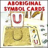 Aboriginal Art Symbol Flash Cards