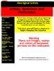 Aboriginal Artists : Webquest
